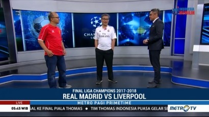 Jelang Final Liga Champions Eropa (2)