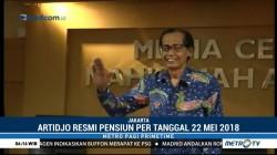 Artidjo Alkostar Resmi Pensiun dari Hakim Agung