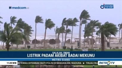 Badai Mekunu Melanda Oman