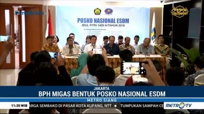 BPH Migas Bentuk Posko Nasional ESDM Hari Raya Idul Fitri 2018