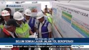 Menteri PUPR Sidak Kesiapan Jalur Mudik di Tol Sewaka