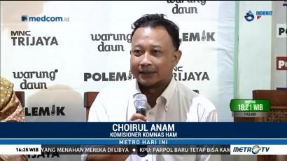 Komnas HAM Kritisi Pelibatan TNI Pada UU Terorisme