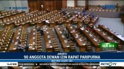 424 Anggota DPR Tak Hadiri Rapat Paripurna Pengesahan UU Terorisme