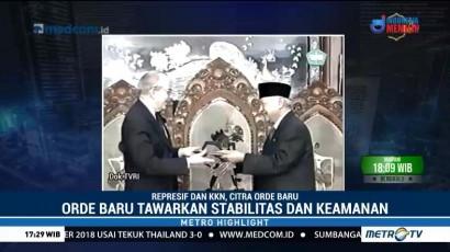 Represif dan KKN, Citra Orde Baru