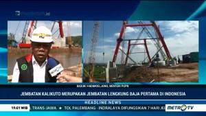 Jembatan Kalikuto Ditargetkan Bisa Dilalui Dua Hari Jelang Lebaran