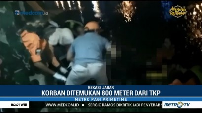 Jasad Sopir Mobil yang Tenggelam di Kalimalang Ditemukan