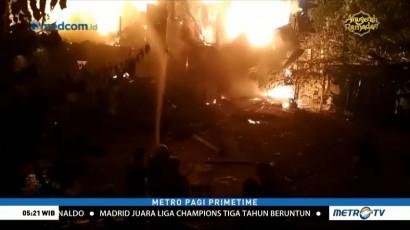 Kebakaran Landa Permukiman Penduduk di Jatinegara