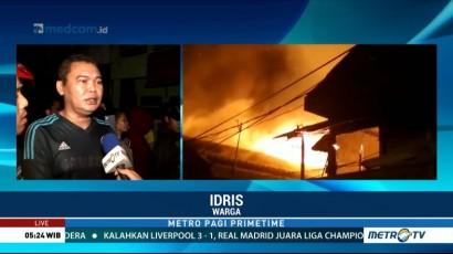 Kebakaran di Jatinegara Berhasil Dipadamkan