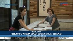 Jelang Waisak, Umat Budha di Medan Rapikan Vihara