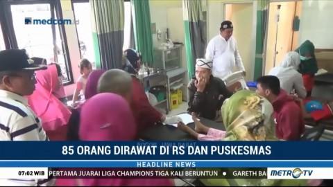 Jumlah Korban Keracunan Tutut di Bogor Bertambah