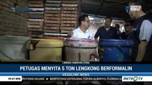 Balai POM Medan Gerebek Pabrik Rumahan Lengkong Berformalin