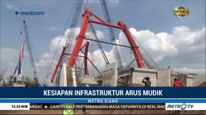 Pembangunan Jembatan Kalikuto Capai 60 Persen