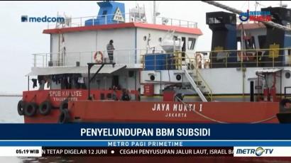 TNI AL Gagalkan Penyelundupan Solar di Perairan Lampung