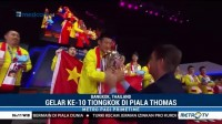 Tiongkok Sukses Raih Piala Thomas