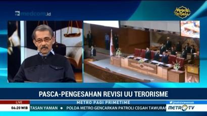Kriminolog UI Tak Puas dengan UU Antiterorisme
