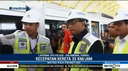 Menhub Hadiri Uji Coba LRT Palembang