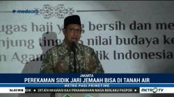 Calhaj Kini Bisa Rekam Data Biometrik di Indonesia