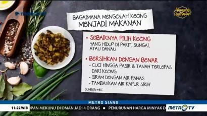 Tips Mengolah Keong