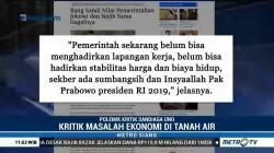 Sandiaga Uno Samakan Pemerintahan Jokowi dengan Najib Razak