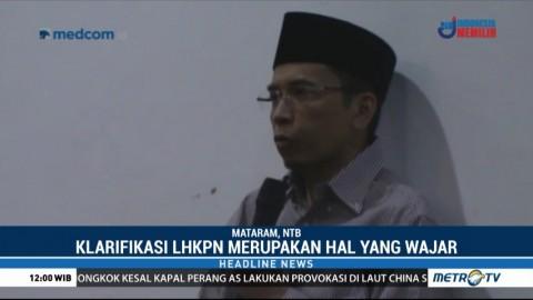 Gubernur NTB Dimintai Klarifikasi LHKPN oleh KPK