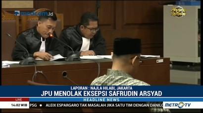 Jaksa Tolak Eksepsi Syafruddin Temenggung
