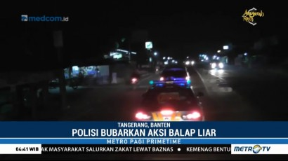Polisi Gelar Razia Balap Liar di Tangerang