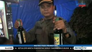 Satpol PP Gelar Razia Miras di Warung