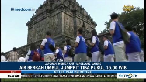 Ini Rangkaian Acara Jelang Perayaan Waisak di Candi Borobudur