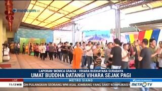 Perayaan Waisak di Wihara Budhayana Surabaya Dijaga TNI-Polri