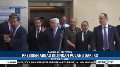Presiden Palestina Diizinkan Pulang dari Rumah Sakit