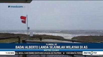 Badai Subtropis Alberto Hantam AS