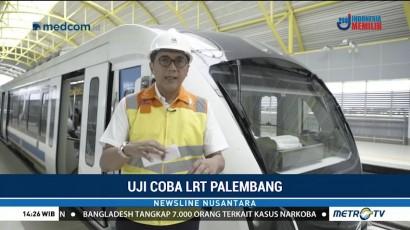 LRT Palembang Ditargetkan Beroperasi 15 Juli