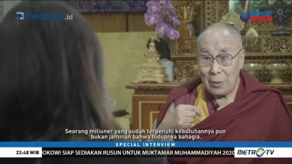 Special Interview with His Holiness Dalai Lama (2)