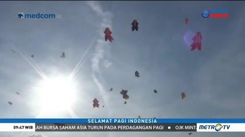 Festival Layang-Layang Raksasa Kembali Digelar di Bali
