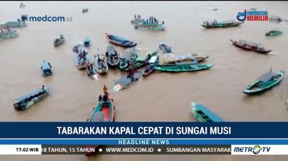 Dua Orang Tewas dalam Kecelakaan Speedboat di Sungai Musi