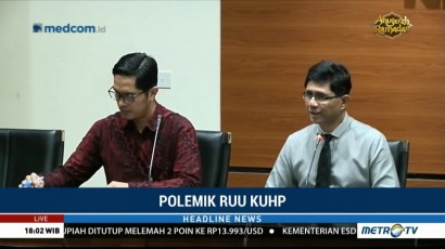 KPK Khawatir Revisi KUHP Lemahkan Pemberantasan Korupsi