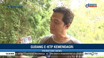 Melihat Gudang KTP-el Kemendagri di Bogor