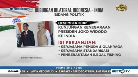 Hubungan Bilateral Indonesia-India di Berbagai Bidang