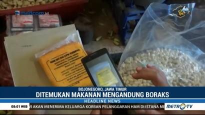 Satgas Pangan Bojonegoro Razia Makanan Mengandung Boraks