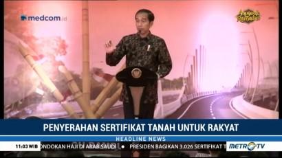 Di Bekasi, Jokowi Kembali Klarifikasi Isu Miring Tentang Dirinya