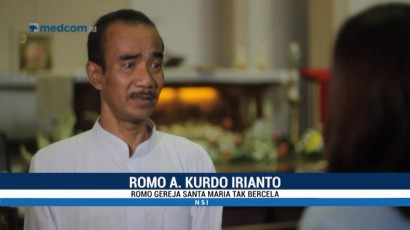 Romo Gereja Santa Maria Tak Bercela: Kami Diajari untuk Mengampuni