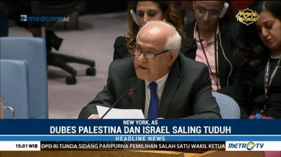 DK PBB Gelar Rapat Bahas Saling Serang Israel-Palestina