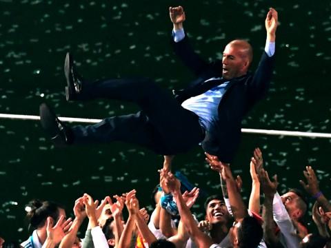 Jejak Kesuksesan Zinedine Zidane