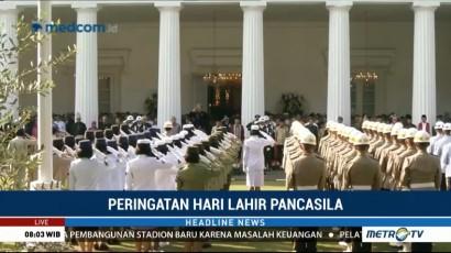 Jokowi Pimpin Upacara Peringatan Hari Lahir Pancasila