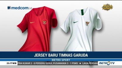 Jersey Baru Timnas Indonesia untuk Piala AFF 2018