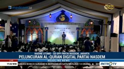 Partai NasDem Gelar Peringatan Nuzulul Quran