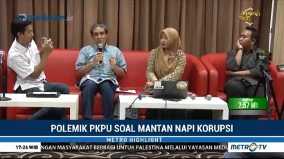 Polemik PKPU Soal Mantan Napi Korupsi
