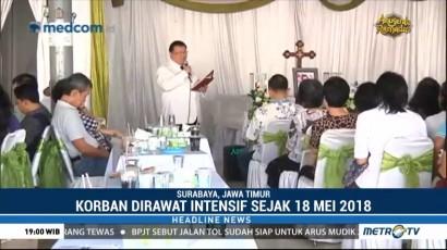Korban Meninggal Bom Gereja Surabaya Bertambah Satu Orang