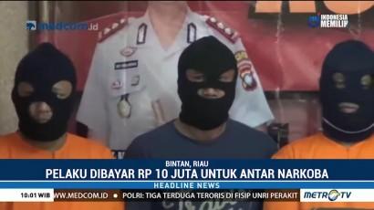 Tiga Kurir Narkoba Ditangkap di Bintan