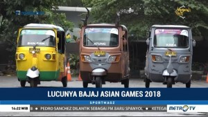 Lucunya Bajaj Asian Games 2018